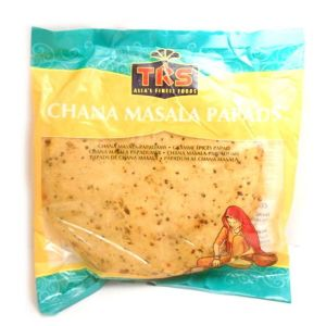 TRS Chana Masala Papads (Poppadoms) | Buy Online at The Asian Cook Shop